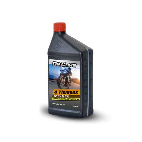 Lubricante mineral moto 4 tiempo 1Litro Dr Care