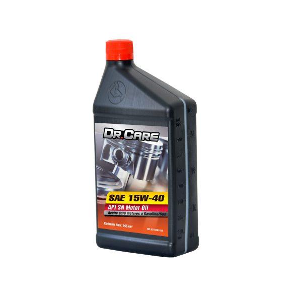 Lubricante Dr. Care para Motores a Gasolina API SL SAE 15W40 Litro